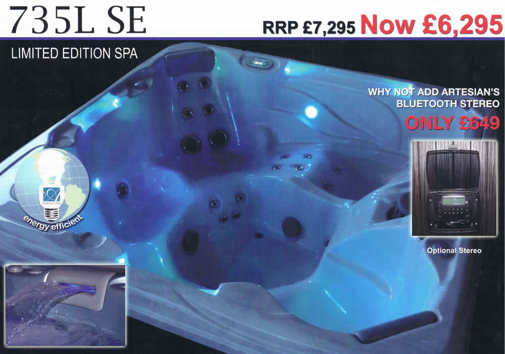 735L Hot tub price