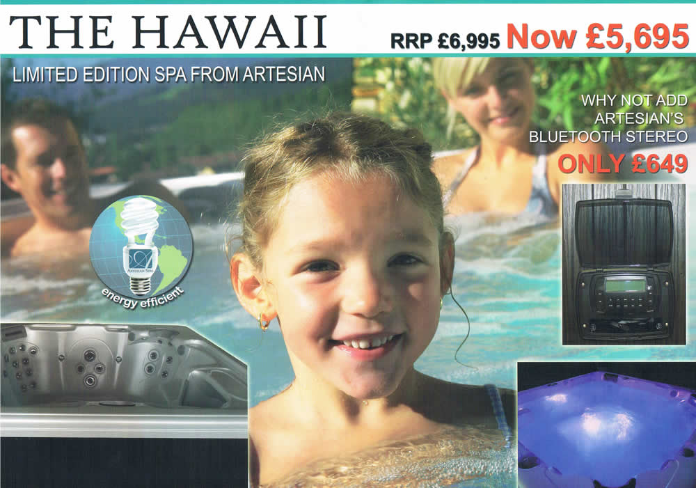 Hawaii Hot tub price