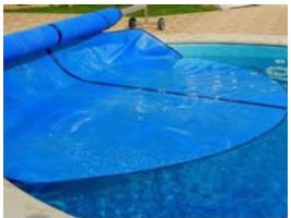 Swimming pool summer cover