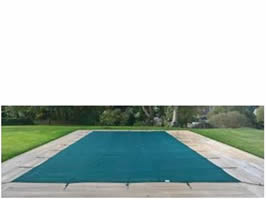 Swimming pool winter cover